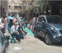 صور  توافد المصلين بمساجد المعادى في أول جمعة بعد كورونا