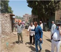 محافظ المنيا: إزالة 62 حالة تعد بمركز ملوي ومباني مخالفة بمطاي