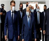 الرئيس اللبناني يستقبل نظيره الفرنسي في بيروت