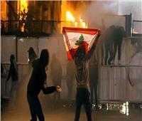 اندلاع مواجهات بين قوات الأمن ومتظاهرين وسط بيروت