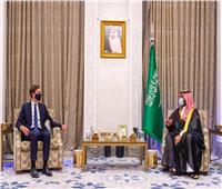 ولي العهد السعودي يلتقي كبير مستشاري الرئيس الأمريكي