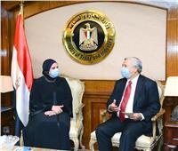 وزيرة التجارة والصناعة تبحث مع السفير الأندونيسي بالقاهرة سبل تعزيز التعاون الاقتصادي