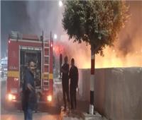 3 سيارات إطفاء للسيطرة على حريق بالهرم