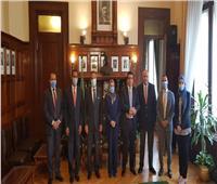 بنك مصر يوقع اتفاقية تعاون مع الشركة المصرية لضمان الصادرات