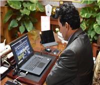 وزير الشباب والرياضة يفتتح المباراة النهائية لدوري مراكز الشباب للصم