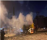 """الجيش يعثر على أطنان جديدة من """"المادة التي سببت الكارثة"""" خارج مرفأ بيروت"""