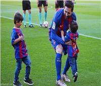 كيف أفسد أطفال ميسي مخططه لمغادرة برشلونة؟