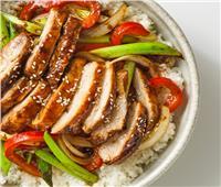 طبق اليوم.. «ترياكي الدجاج الياباني»