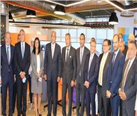 صور| محافظ البنك المركزي يزور أول قطاع متكامل للتحول الرقمي المصرفي ببنك مصر