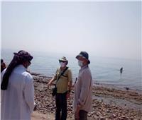 وفد ناشيونال جيوجرافيك يغادر جنوب سيناء بعد قضاء جولة سياحية
