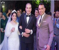 صور| الليثي يتألق في حفل زفاف «مراد وشروق»