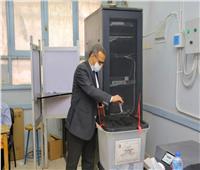 رئيس جامعة الأقصر يدلي بصوته الانتخابي في جولة الإعادة لانتخابات «الشيوخ»