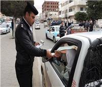 اتخاذ الإجراءات القانونية ضد 2368 سائق لعدم ارتداء الكمامة