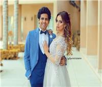 حمدي الميرغني يحتفل بعيد ميلاد زوجته
