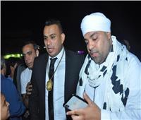 صور| الليثي وأبو الليف ونجوم الطرب في زفاف ابنة عمرو أبوزيد