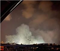 فيديو: النيران تندلع مجددا في مرفأ بيروت