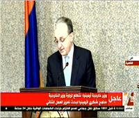 وزير خارجية أرمينيا: تركيا اتخذت نهج أحادى عدوانى ضد الشعب الأرمينى