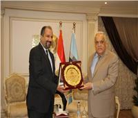 تكريمرئيس الهيئة العربية للتصنيعللدور الوطني في خدمة المجتمع