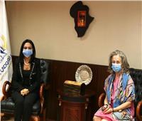 رئيسة «القومي للمرأة» تبحث مع سفيرة البرتغال التعاون المشترك