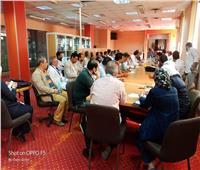 في أول اجتماعاته.. مدير معهد ناصر يحدد خطة عمل المرحلة الحالية
