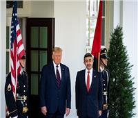 بالصور  وزيرا خارجية الإمارات والبحرين يصلان البيت الأبيض