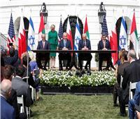 توقيع اتفاقيات السلام بين الإمارات والبحرين وإسرائيل بالبيت الأبيض