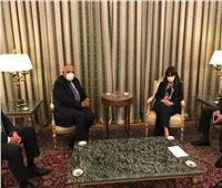 رئيسة جمهورية اليونان تستقبل وزير الخارجية خلال زيارته لأثينا