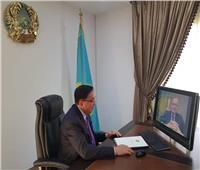سفير كازاخستان الجديد يقدم أوراق اعتماده