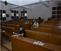 دون أي معوقات  جامعة القاهرة تنهي امتحانات التعليم المدمج في هدوء