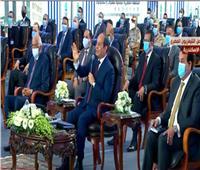 فيديو| من الإسكندرية.. الرئيس السيسي يوجه رسالة للمصريين
