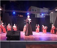 صور| «غناء نوبي وتنورة» على مسرح ساحة مركز الهناجر