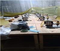 ضبط مصنع كمامات غير مرخص داخل «بدروم» في البحيرة