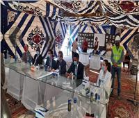 وفد برلماني فرنسي يزور مشروعات ينفذها جهاز تنمية المشروعات مع محافظة الجيزة