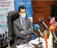 وزير الشباب والرياضة يبحث التعاون الثنائي مع نظيره بجنوب السودان