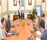 «السيسي» يوجه بإطلاق اسم «شينزو آبي» على محور مروري جديد بشرق القاهرة