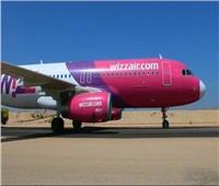 مطار برج العرب يستقبل أولى رحلات شركة Wizz Air من ميلانو