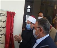 وزير الأوقاف ومحافظ البحرالأحمر يفتتحان مسجد الأحياء المائية بالغردقة