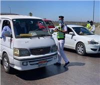 «المرور» تواصل حملاتها وتضبط 4653 مخالفة متنوعة