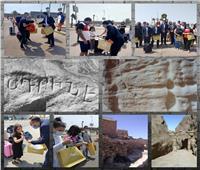 خبير آثار: الأرمن لهم تاريخ عريق فى الحج إلى سانت كاترين تشهد به النقوش الصخرية