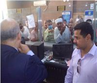 السكرتير العام المساعد لسوهاج يتابع تلقي طلبات التصالح على مخالفات البناء