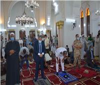 محافظ المنيا يفتتح أعمال تطوير وتجميل ورفع كفاءة مسجد الفولي والمنطقة المحيطة به