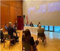 «العناني» يعقد اجتماعاً مع رئيس لجنة السياحة بمجلس النواب الألماني
