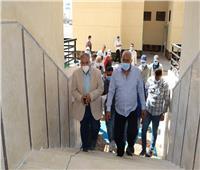 مسئولو «الإسكان» يتفقدون مواقع الإسكان الاجتماعى بمدينة السادات