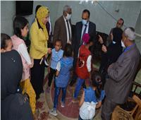 محافظ المنيا يوجه بمتابعة مؤسسة البنات وتوفير أوجه الرعاية الشاملة