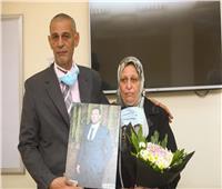 «جامعة مصر» تطلق اسم الشهيد محمد أشرف على مدرج بمستشفى سعاد كفافي