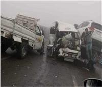 إصابة 14 مواطنا فى حادثين بطرق الشرقية