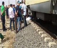 مصرع شخص أسفل عجلات القطار في بني سويف