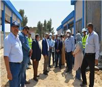 رئيس القابضة للمياه يتابع مشروع محطة حجازة بحري بمحافظة قنا