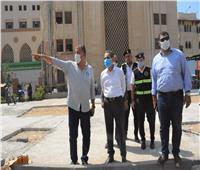 محافظ الغربية في جولات مستمرة على مدار اليوم يتفقد أعمال الرصف والنظافة ب 6 مدن وأحياء