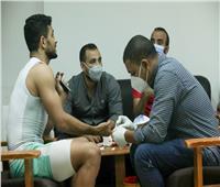 الأهلي يُجري «رابيد تيست» استعدادًا لمواجهة نادي مصر